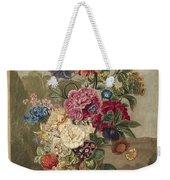 Flower Arrangement, Anthonie Van Den Bos, 1778 - 1838 B Weekender Tote Bag