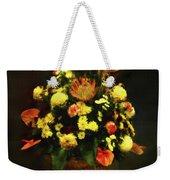 Flower Arrangement Weekender Tote Bag