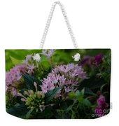 Flower Basket Weekender Tote Bag