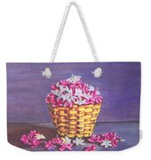 Flower Basket Weekender Tote Bag