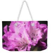 Flower Beauty Weekender Tote Bag