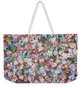 Flower Bed Weekender Tote Bag