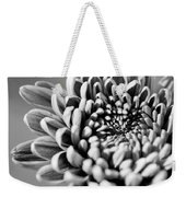 Flower Black And White Weekender Tote Bag