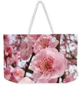 Flower Blossoms Art Spring Trees Pink Blossom Baslee Troutman Weekender Tote Bag
