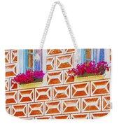 Flower Boxes In Slavonice Weekender Tote Bag