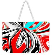 Flower Burst Of Color Weekender Tote Bag