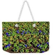 Flower Carpet. Sochi Arboretum. Weekender Tote Bag
