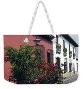 Flower Cart Old Antigua Weekender Tote Bag