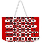 Flower Chess Weekender Tote Bag