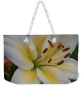Flower Close Up 1 Weekender Tote Bag