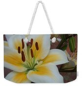 Flower Close Up 3 Weekender Tote Bag