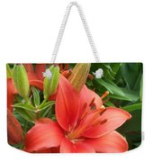 Flower Close Up 4 Weekender Tote Bag