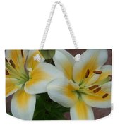 Flower Close Up 5 Weekender Tote Bag