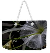 Flower Close Up Weekender Tote Bag