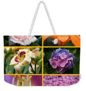 Flower Collage 1 Weekender Tote Bag