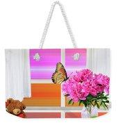 Flower Color Weekender Tote Bag