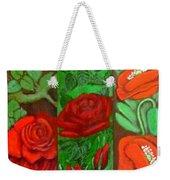 Flower Composition 4 Weekender Tote Bag