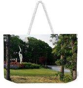 Flower Crane Weekender Tote Bag