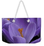 Flower Crocus Weekender Tote Bag