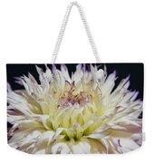Flower Dahlia. Macro Weekender Tote Bag