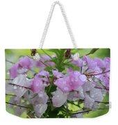 Flower Dew Beauty Weekender Tote Bag