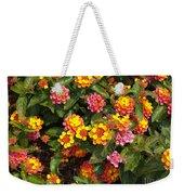 Flower Explosion Weekender Tote Bag