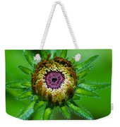 Flower Eye Weekender Tote Bag