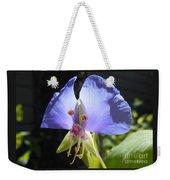 Flower Face Weekender Tote Bag