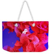 Flower Fantasy Weekender Tote Bag