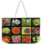Flower Favorites Weekender Tote Bag