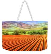 Flower Field Near Los Osos Weekender Tote Bag