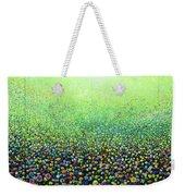 Flower Field Riot Weekender Tote Bag