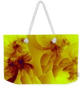 Flower Formations Weekender Tote Bag