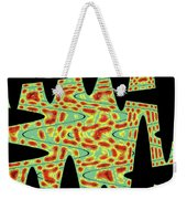 Flower From Mt Ord Abstract Weekender Tote Bag