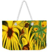 Flower Fun Weekender Tote Bag