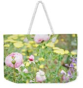 Flower Garden Bouquet Weekender Tote Bag