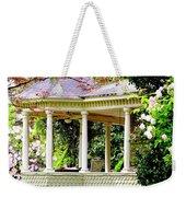 Flower Garden Chair Weekender Tote Bag