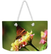 Flower Garden Friend Weekender Tote Bag