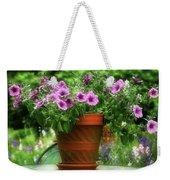 Flower Garden Pot Weekender Tote Bag