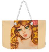 Flower Girl 2 Weekender Tote Bag