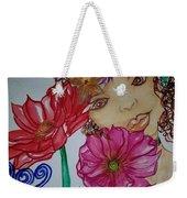 Flower Goddess  Weekender Tote Bag
