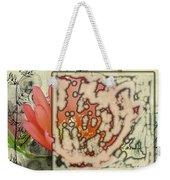 Flower-h Weekender Tote Bag