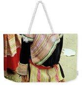 Flower Hmong Girl 04 Weekender Tote Bag