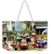 Flower Hmong Women 02 Weekender Tote Bag