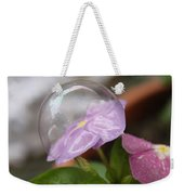 Flower In A Bubble Weekender Tote Bag