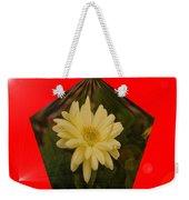 Flower In A Pentagon  Weekender Tote Bag