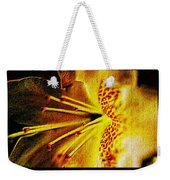 Flower In Abstraction Art Weekender Tote Bag