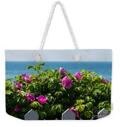 Flower Island View Weekender Tote Bag