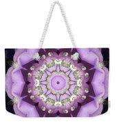 Flower Kaleidoscope 004 Weekender Tote Bag