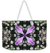 Flower Kaleidoscope_001 Weekender Tote Bag